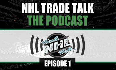 NHL Trade Talk Podcast Episode 1 Cover