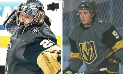 Marc Andre Fleury Cody Glass Golden Knights