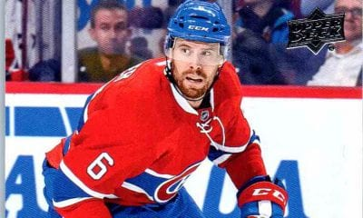 Shea Weber Montreal Canadiens
