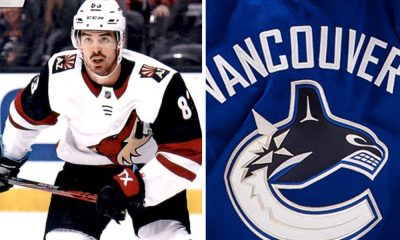 Conor Garland Signs with Canucks