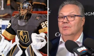Marc-Andre Fleury Kelly McCrimmon Golden Knights