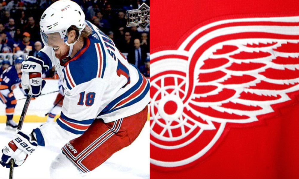 Marc Staal Detroit Red Wings