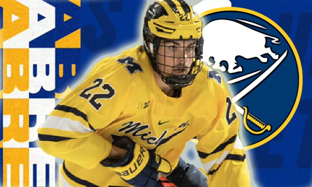 Owen Power Drafted No 1 by Sabres