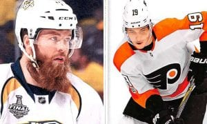 Ryan Ellis Traded to the Flyers for Nolan Patrick Ahead of Expansion Draft