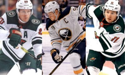 Ryan Suter Jack Eichel and Zach Parise, Wild Moves that could be connected?