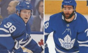 Current Maple Leafs' Line Combinations: With One Preseason Game to Go