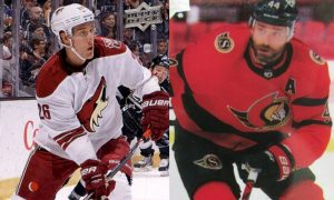 Flames Sign Stone and Gudbranson to One Year Deals